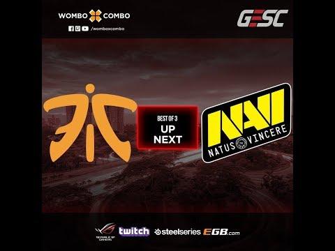 Fnatic Vs Natus Vincere Game 2 (BO3) L GESC: Indonesia Dota2 Minor