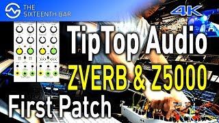 TipTop Audio ZVERB & Z5000 - Techno Jam - Synthesizer Live