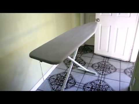 How to close/fold up an Ironing Board (Easy)