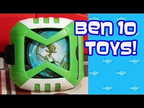 Ben 10 Happy Meal Toys!