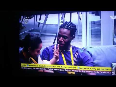 Soma And Gifty Finally Kissed On Big Brother Naija