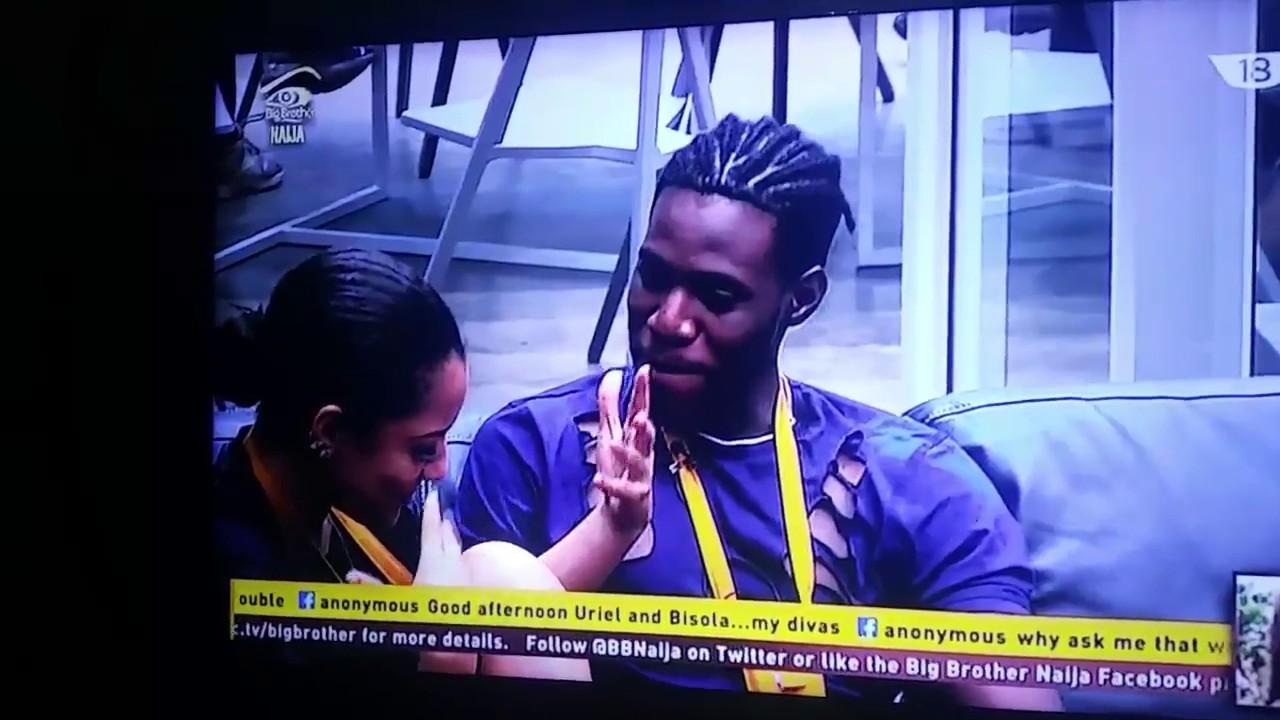 Download Soma And Gifty Finally Kissed On Big Brother Naija
