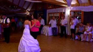 Tiger Renáta és Nagy Gábor esküvője, Menyasszony-tánc