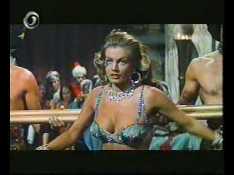 "Anita Ekberg Dancing in ""Zarak"" (1956)"