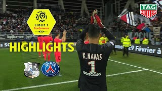 Amiens Sc - Paris Saint-germain 4-4 - Highlights - Asc - Paris / 2019-20