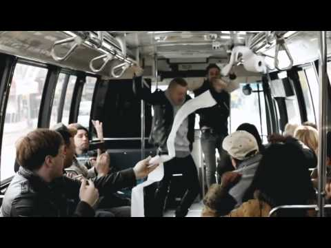 Macklemore & Ryan Lewis - CAN'T HOLD US FEAT. RAY DALTON on a city bus