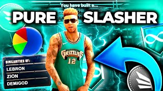 I CREATED THE BEST PURE SLASHER BUILD ON NBA 2K20! BUILD TUTORIAL + GAMEPLAY