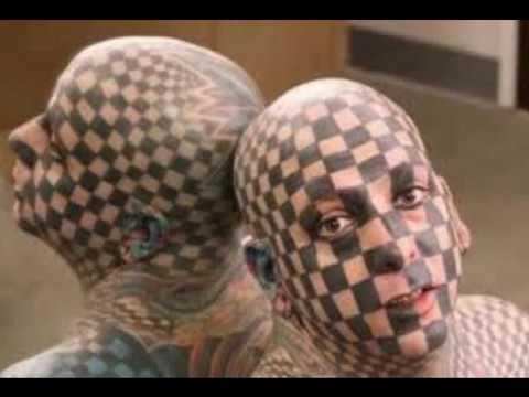 I tatuaggi pi strani del youtube for I gioielli piu belli del mondo
