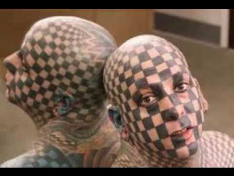 I tatuaggi pi strani del youtube for I piu fighi del mondo