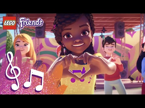 Weve Got Heart Lego Friends Music Video Youtube