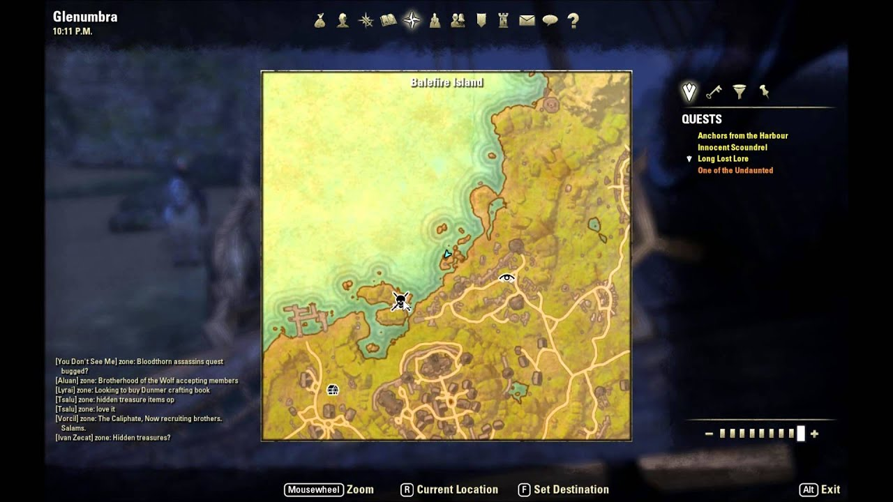 ESO: Glenumbra Treasure Map VI