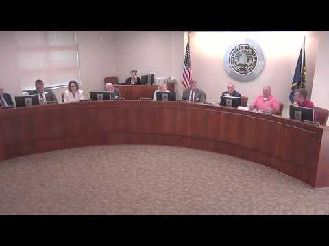 Center Grove School Board Meeting - August 2019