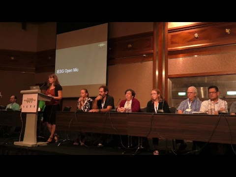 IETF Operations, Administration, and Technical Plenary