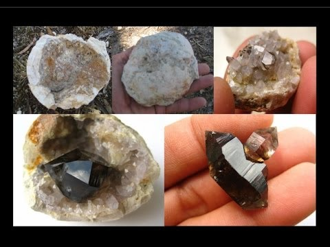 How to find Geodes - Smoky Quartz Crystals | Liz Kreate