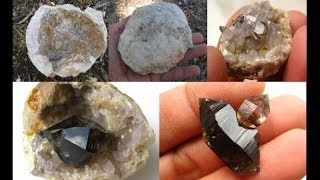 How to find Geodes - Smoky Quartz Crystals | Liz Kreate thumbnail