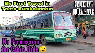 🚌TNSTC KUMBAKONAM TRAVEL VLOG!!! Kumbakonam to Thanjavur | First time in Tnstc-Kum | Naveen Kumar