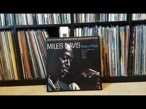 Miles Davis - Kind of Blue 45 RPM Vinyl LP Box Set Mofi (MFSL 2-45011)