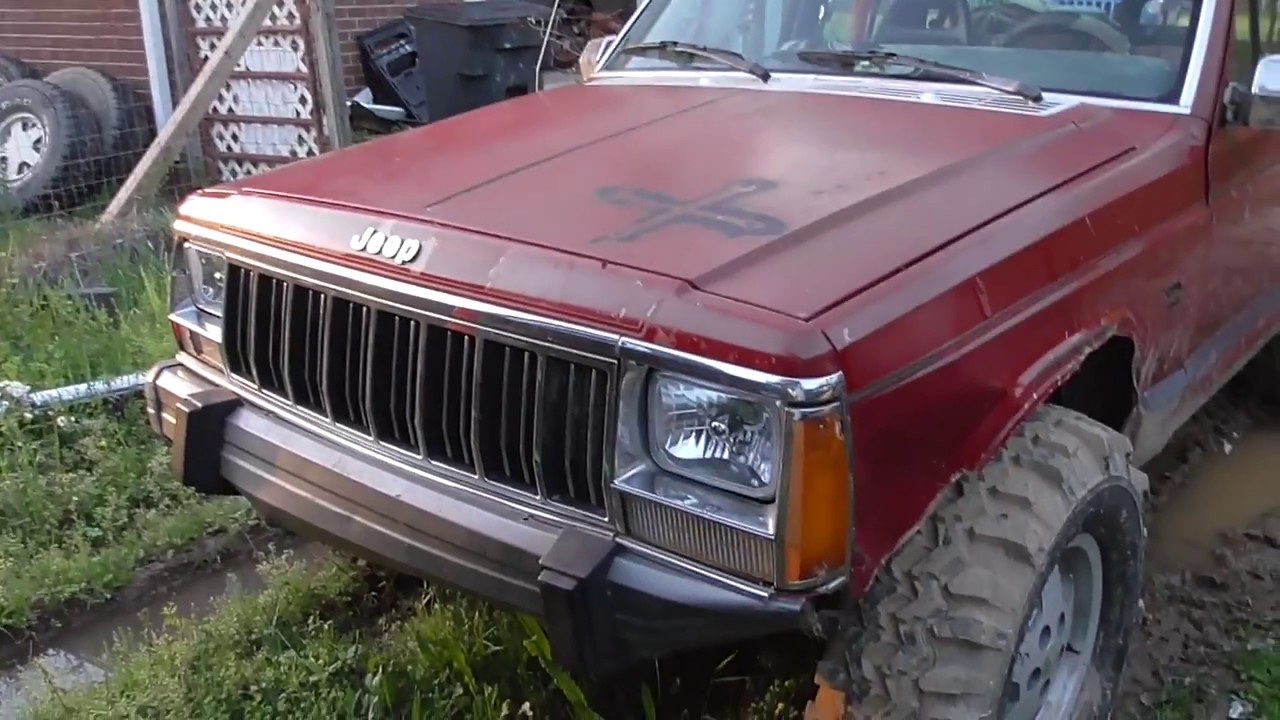 1991 jeep cherokee update new morimoto 5x7 led headlights 1991 jeep cherokee update new morimoto 5x7 led headlights some wiring and liftgate speakers