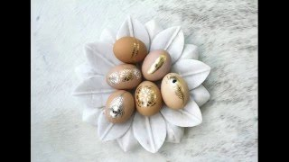 видео Декорируем пасхальные яйца с помощью наборов