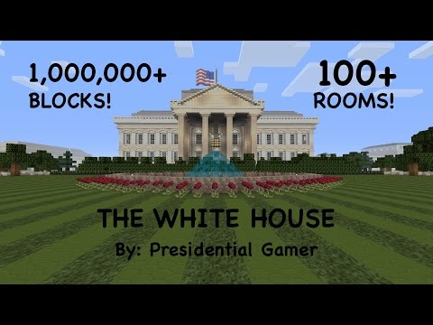 MINECRAFT'S BEST WHITE HOUSE (FULL-SCALE)