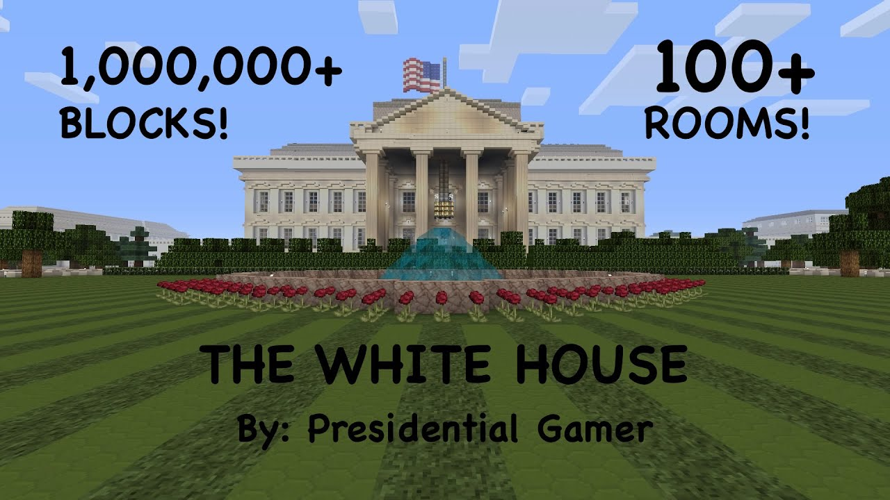 Minecraft S Best White House Full Scale Youtube