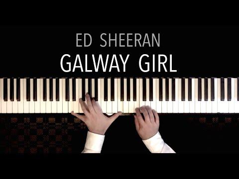 Ed Sheeran - Galway Girl (Piano Cover)