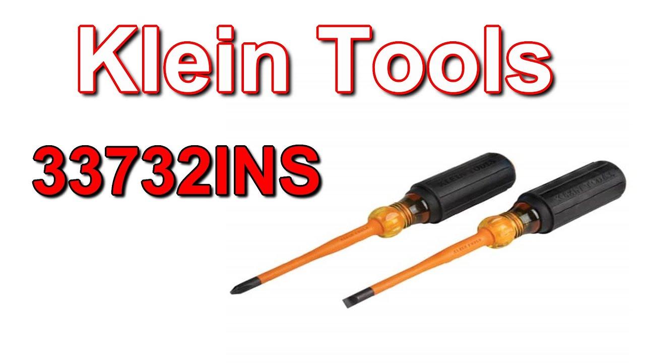 Отвертки Klein Tools 33734INS. Обзор и сравнение.