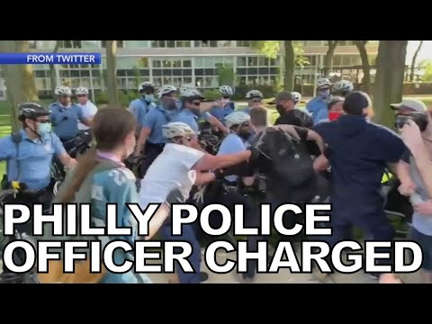 Philadelphia Police Officer Charged With Assault on Temple Student at Rally