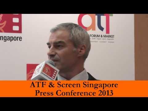 ATF & Screen Singapore 2013 Press Update by Robin Stienberg, National Critics Choice