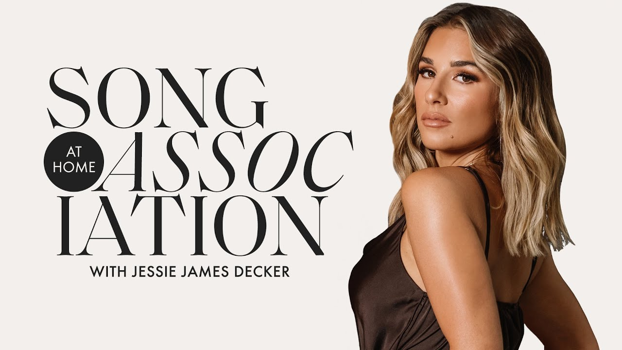Jessie James Decker Sings Blake Shelton, Shania Twain & More in a Game of Song Association