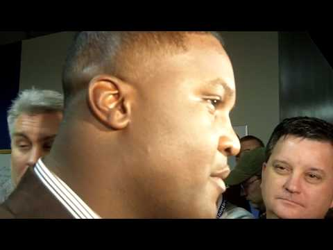 Tee Martin talks about coming to UK