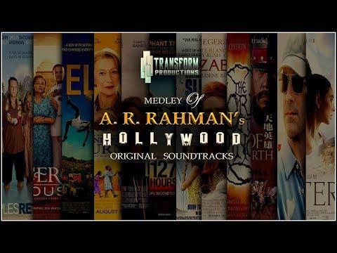 A. R. RAHMAN's HOLLYWOOD & FOREIGN FILMS OST MEDLEY 🎧 | SUMANN | TRANSFORM PRODUCTIONS