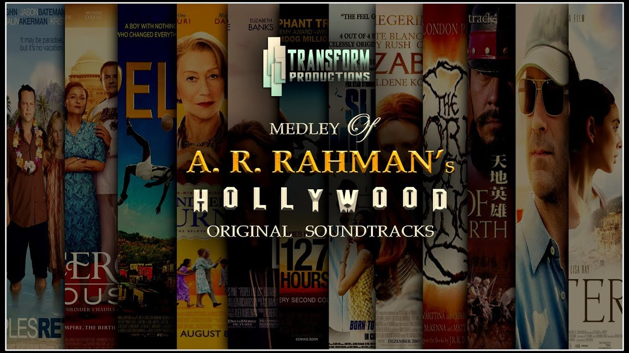 Download A. R. RAHMAN'S HOLLYWOOD & FOREIGN FILMS OST MEDLEY 🎧 | SUMANN | TRANSFORM PRODUCTIONS