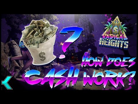 Radical Heights | HOW DOES CASH WORK? FREE SKINS?!