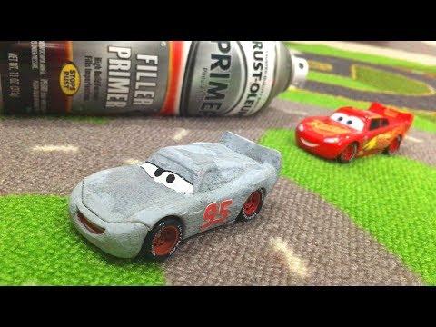 Disney Cars 3 Toys Lightning McQueen DiY HOW TO Make Custom Real PRIMER LIGHTNING McQUEEN