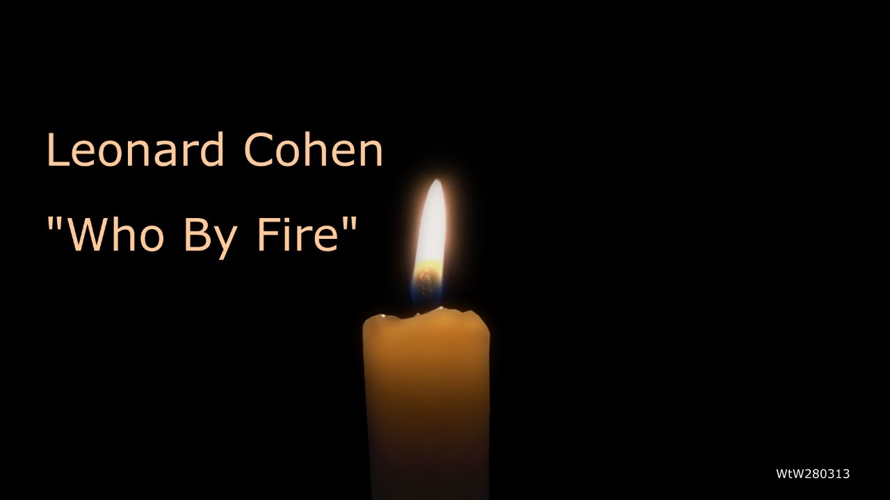 Leonard Cohen Who By Fire Youtube Onefire Clover Night Lamp
