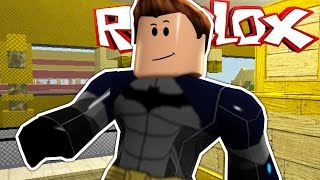 Roblox - France SuperHero Tycoon - France Je suis BATMAN!