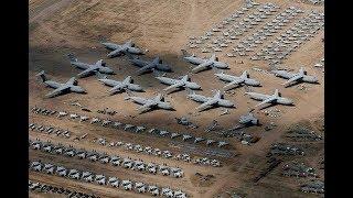 Брошенный военный арсенал, богом забытый аэродром...
