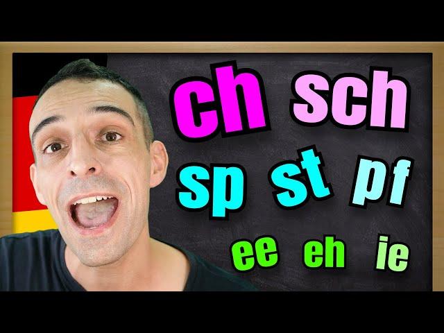 German Pronunciation for Beginners A1   Aussprache Basics A1