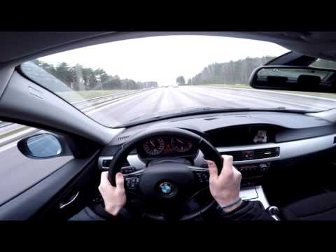 2010 BMW 320D E90 Facelift POV (Gopro)