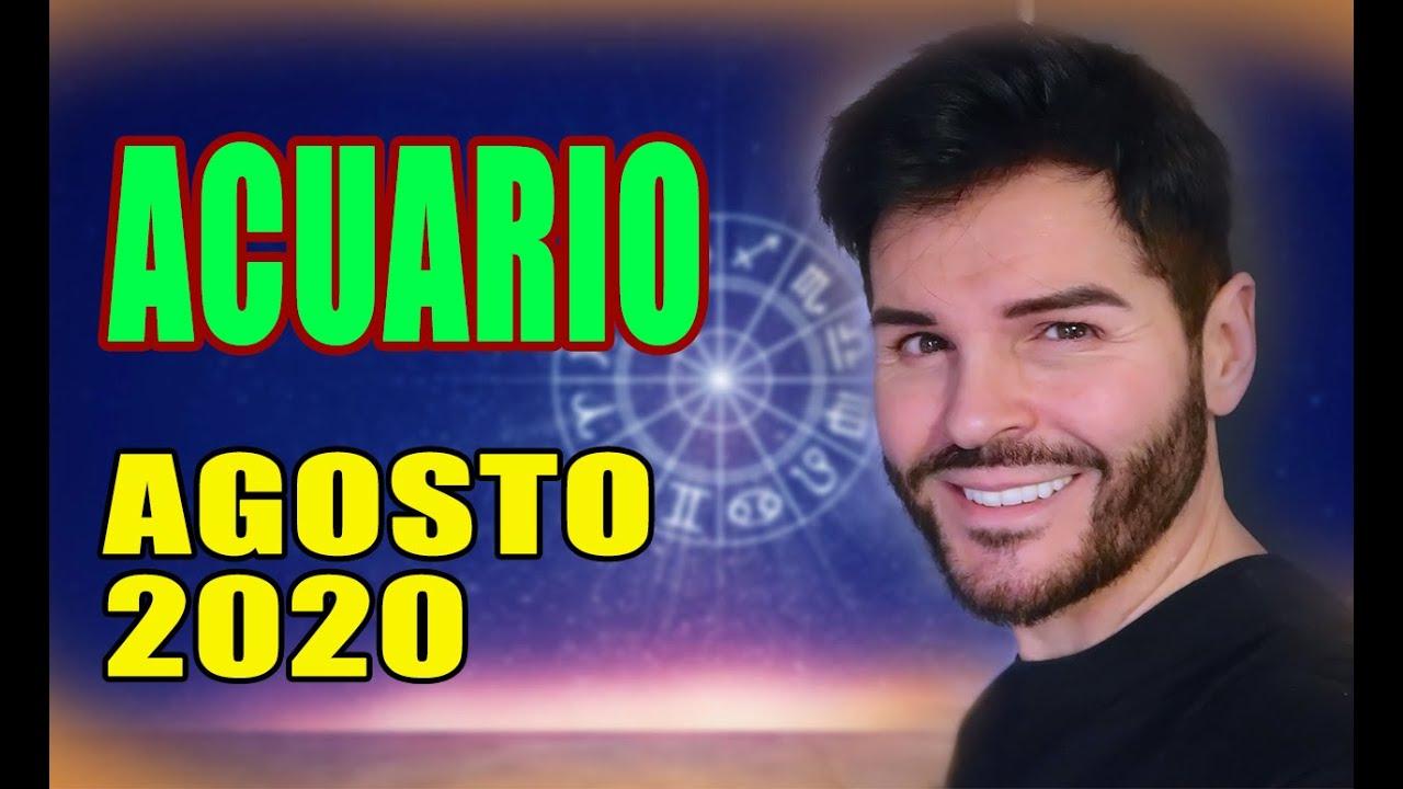 HORÓSCOPO AGOSTO 2020,ACUARIO, MARCOS ALZIRA