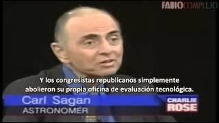 La última entrevista antes de morir de Carl Sagan (subtitulada al español) 1996