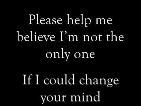 Boyce Avenue~Change Your Mind lyrics