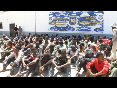 More than 7,000 migrants detained in Libya