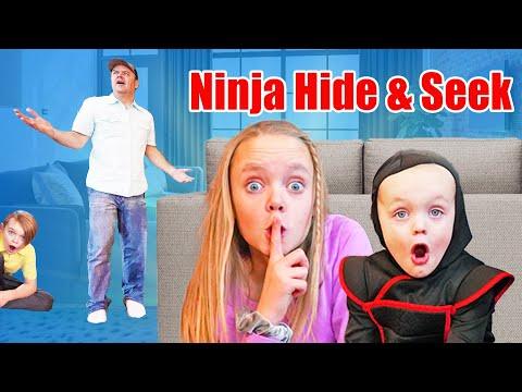 Sneaky Ninja Hide And Seek! The Fun Squad On Kids Fun TV
