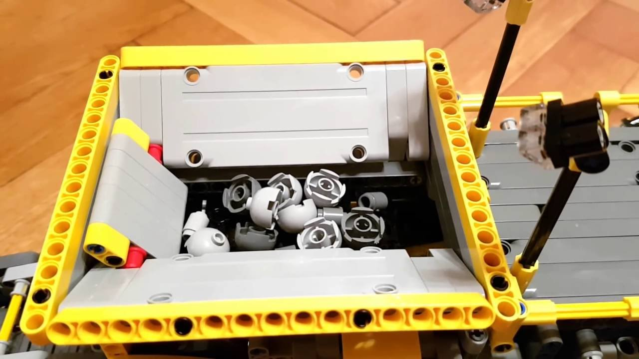 Lego 42055 Mobile Aggregate Processing Plant B Model Youtube