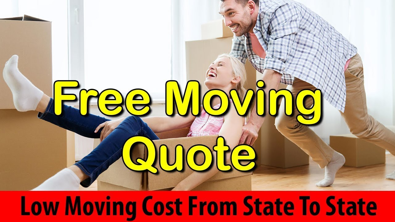 Free Moving Quotes Moving Cost From State To State  Get 7 Free Moving Quotes Now