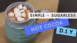 Dairy Free, Sugarless Hot Cocoa | DIY recipe with Kelsey Lee