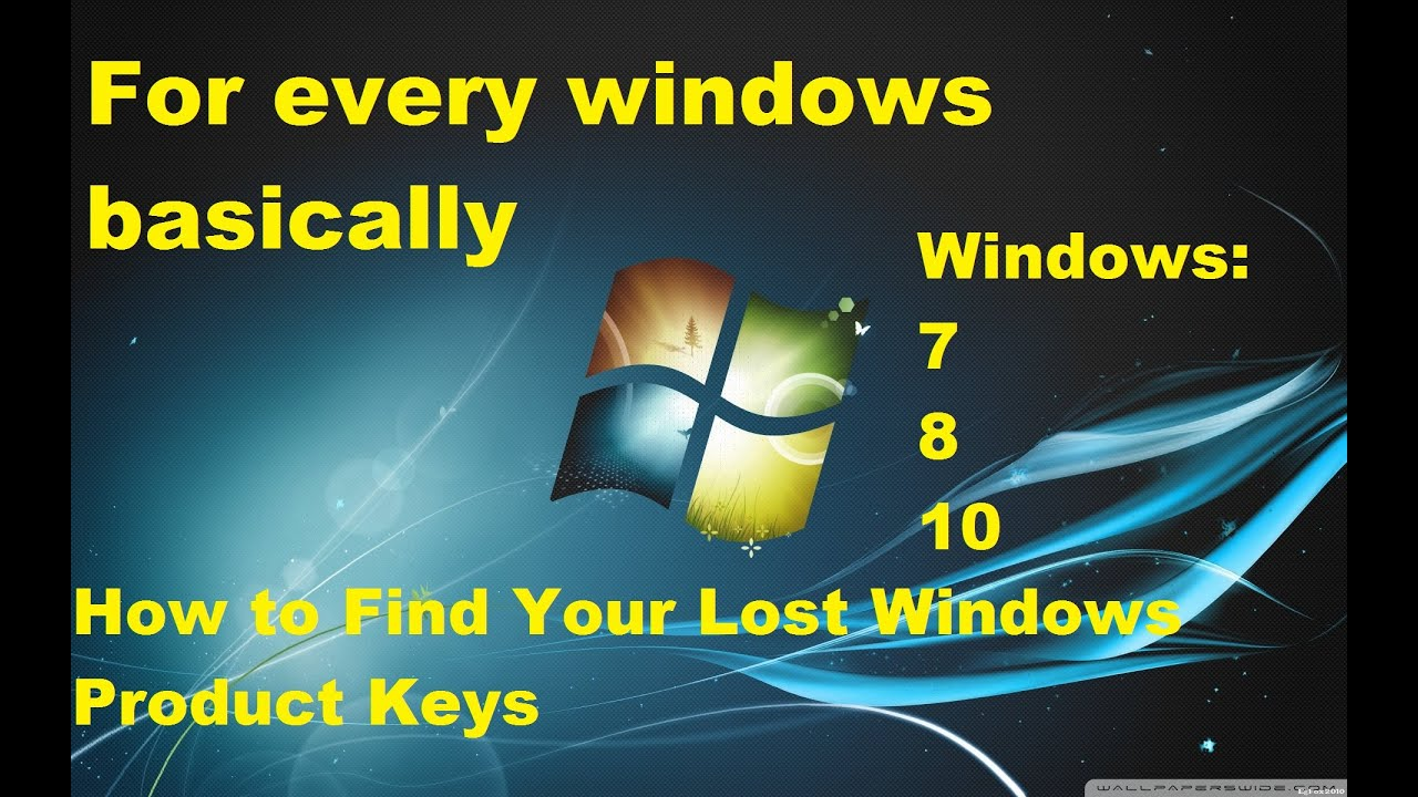 How to find Windows 10 product key after install easy way ...