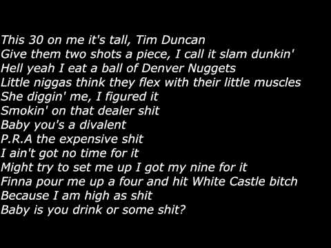 Chief Keef - Slam Dunkin (Official Screen Lyrics)